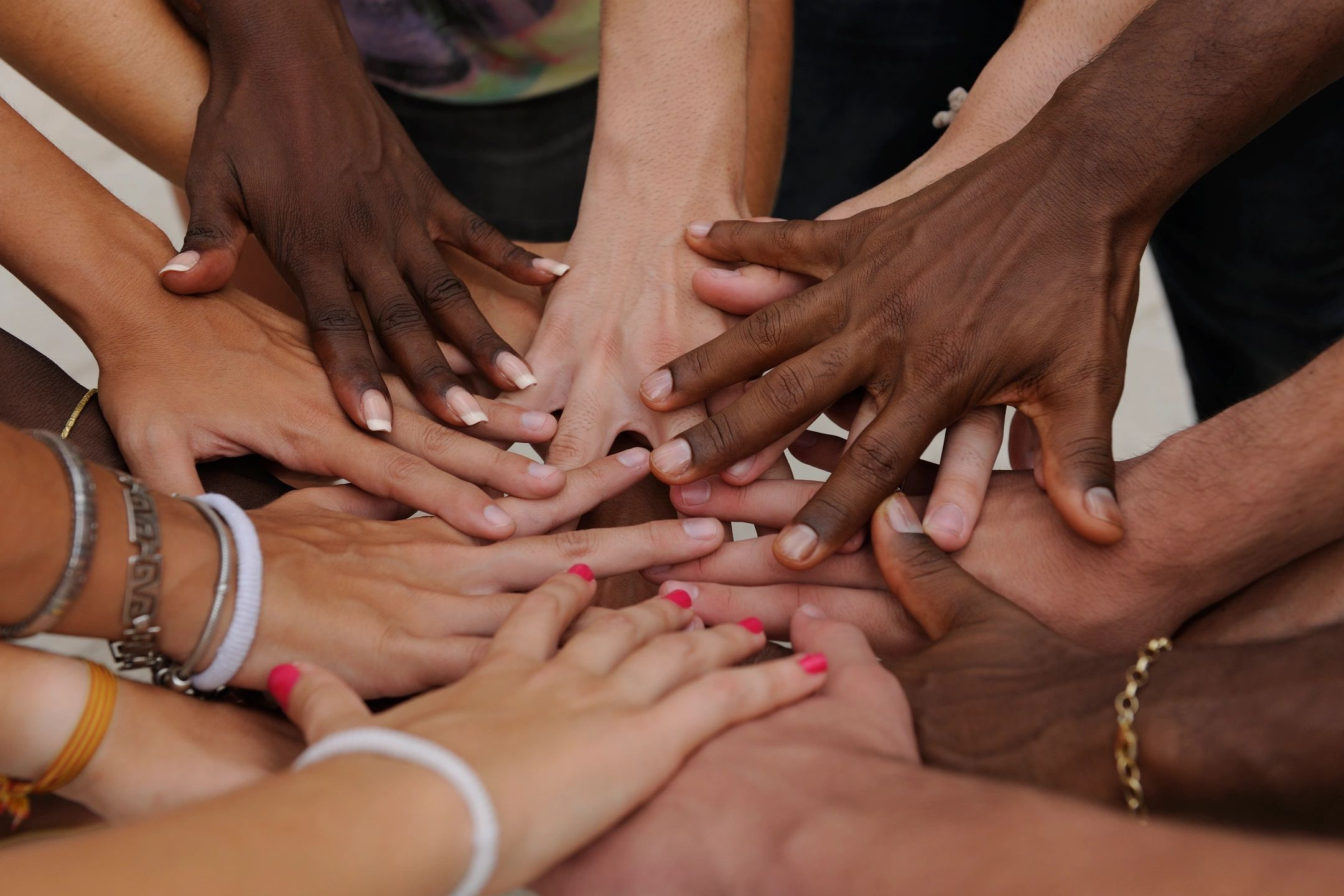 Nonprofit image of hands